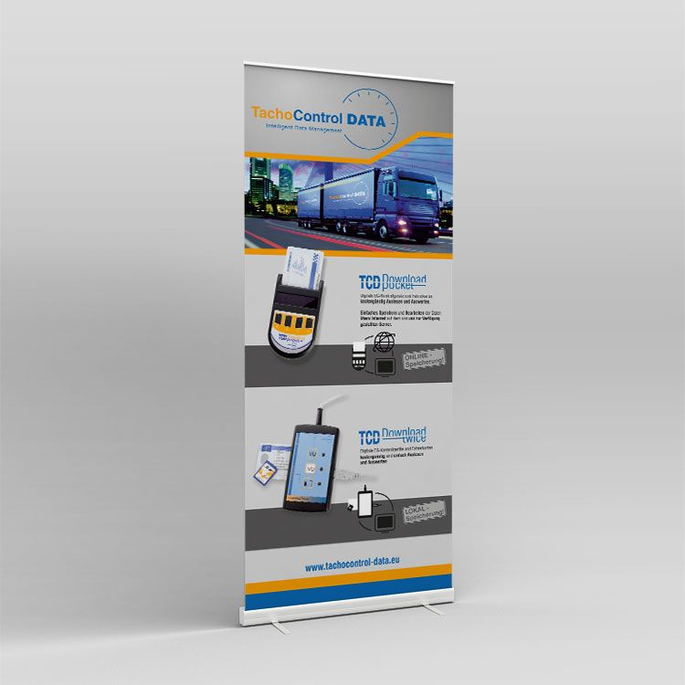 TCData Roll-up Display